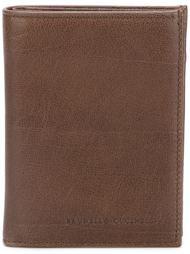 кошелек с тисненым логотипом Brunello Cucinelli