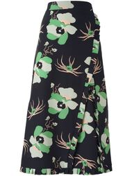 юбка миди с цветочным узором Dakota Marni