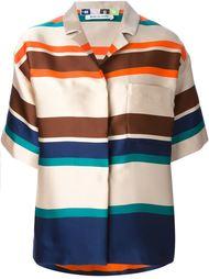 свободная рубашка в полоску MSGM