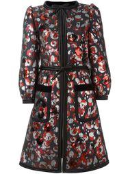 пальто с пайетками Warped Flower Marc Jacobs