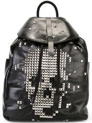 рюкзак с черепом из заклепок Alexander McQueen