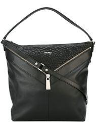 сумка на плечо с декоративной молнией Diesel
