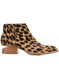 ботинки с леопардовым принтом  'Kori'  Alexander Wang