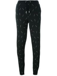embroidered match track pants Zoe Karssen