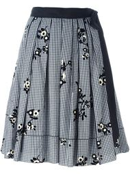 юбка в клетку гингем Marc Jacobs