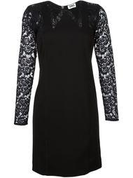 платье с кружевными рукавами  Sonia By Sonia Rykiel