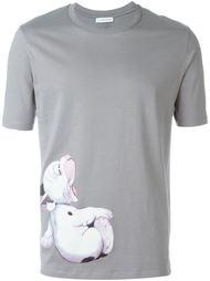 футболка с принтом собаки J.W.Anderson