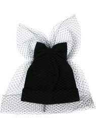 шапка 'Veil and Bow'  Federica Moretti