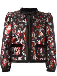 пиджак с дизайном из пайеток Marc Jacobs