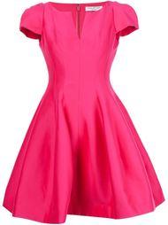 расклешенное мини-платье Halston Heritage