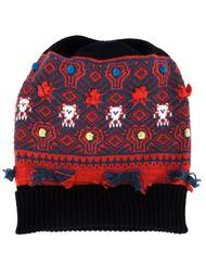 intarsia knit beanie Barrie