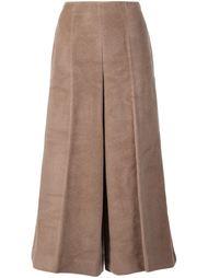 фактурные широкие брюки Maison Margiela