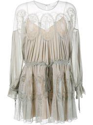 ажурное платье  Chloé