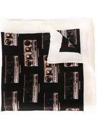 карманный платок с принтом магнитофонов Paul Smith