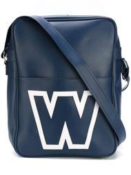 сумка на плечо с принтом-логотипом Walter Van Beirendonck Vintage