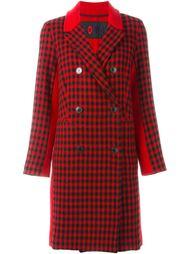 двубортное пальто в клетку Sonia By Sonia Rykiel