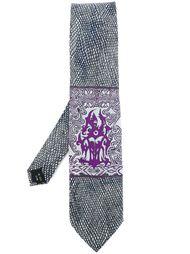 галстук с абстрактным принтом Jean Paul Gaultier Vintage