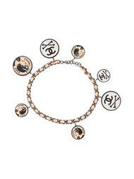 ожерелье-чокер с круглыми подвесками Chanel Vintage