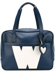 сумка-тоут с логотипом 'W' Walter Van Beirendonck Vintage