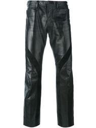 кожаные брюки Jean Paul Gaultier Vintage