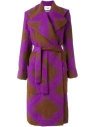 платье с контрастным принтом  Fendi