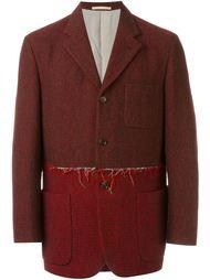 пиджак с контрастной панелью Comme Des Garçons Vintage