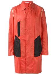 пальто дизайна колор-блок Helmut Lang Vintage