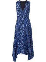 платье с абстрактным принтом Proenza Schouler