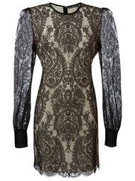 кружевное платье Alexander McQueen