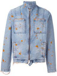 джинсовая куртка с потертой отделкой Walter Van Beirendonck Vintage
