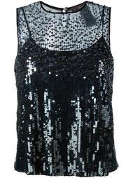 декорированная  блузка  Max Mara