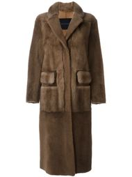 фактурное пальто  Blancha