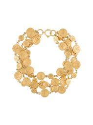 многослойное ожерелье Chanel Vintage