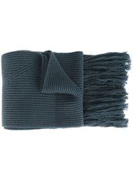 шарф с кисточками Lanvin