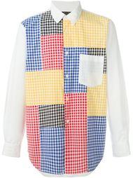рубашка в клетку гингем Comme Des Garçons Vintage