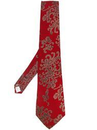 галстук с принтом 'Arabesyre' Jean Paul Gaultier Vintage