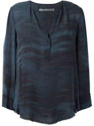 блузка c V-образным вырезом  'Georgette'  Raquel Allegra