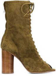 ботинки со шнуровкой спереди Valas