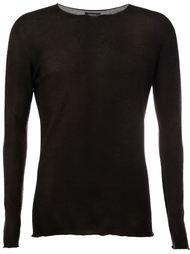 свитер с выбеленным эффектом  Avant Toi