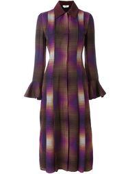 плиссированное платье  Fendi