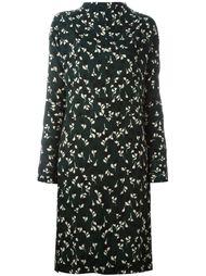 платье миди с цветочным узором Marni