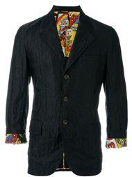 пиджак с мятым эффектом Comme Des Garçons Vintage