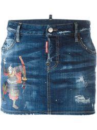 короткая юбка  Dsquared2
