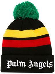 шапка-бини с логотипом Palm Angels