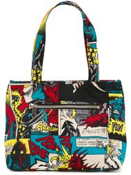 сумка-тоут с принтом комиксов Jean Paul Gaultier Vintage