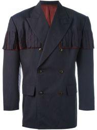 классический пиджак с бахромой Jean Paul Gaultier Vintage