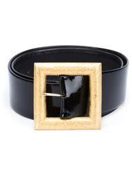 ремень с объемной пряжкой Chanel Vintage