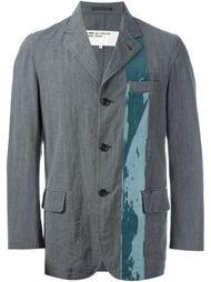 пиджак с контрастной полосой Comme Des Garçons Vintage