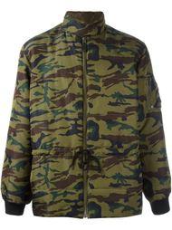 стеганая куртка с камуфляжным принтом Jean Paul Gaultier Vintage