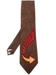галстук 'Gaultier' Jean Paul Gaultier Vintage
